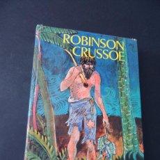 Libros de segunda mano: ROBINSON CRUSOE - DANIEL DEFOE / EDICION ESCOLAR / ED. EVEREST AÑO 1973 / TAPA DURA / SIN USAR. Lote 135516814