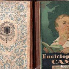 Libros de segunda mano: ENCICLOPEDIA CAMÍ GRADO ELEMENTAL (ELZEVIRIANA CAMÍ, 1939). Lote 135570518