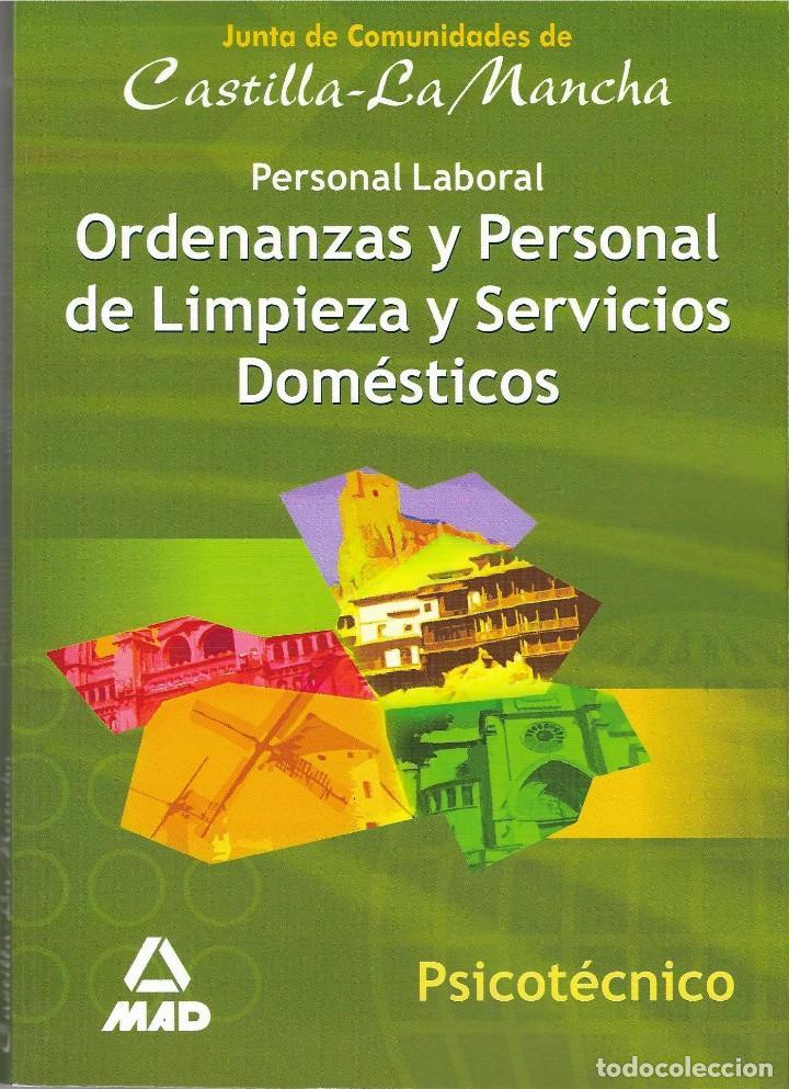 PSICOTÉCNICOS ORDENANZAS Y PERSONAL DE LIMPIEZA Y SERVICIOS DOMÉSTICOS (Libros de Segunda Mano - Libros de Texto )