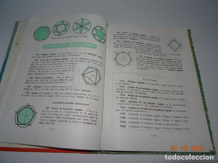 Libros de segunda mano: Antiguo Libro de Escuela GEOMETRIA Primer Grado de la Editorial LUIS VIVES - Año 1962 - Foto 3 - 136591954