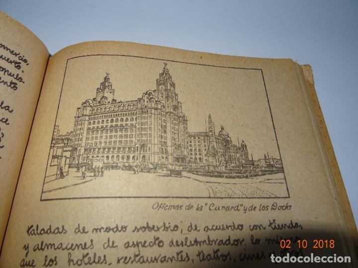 Libros de segunda mano: Antiguo Libro de Escuela EUROPA Y SUS GRANDES CIUDADES de la Editorial Miguel A. Salvatella Año 1958 - Foto 3 - 136592210