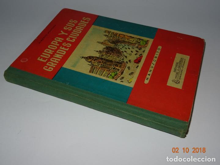 Libros de segunda mano: Antiguo Libro de Escuela EUROPA Y SUS GRANDES CIUDADES de la Editorial Miguel A. Salvatella Año 1958 - Foto 5 - 136592210