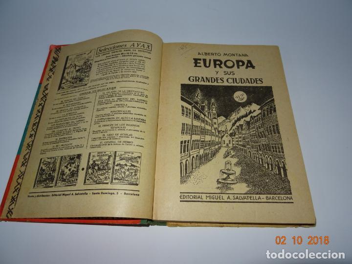 Libros de segunda mano: Antiguo Libro de Escuela EUROPA Y SUS GRANDES CIUDADES de la Editorial Miguel A. Salvatella Año 1958 - Foto 6 - 136592210
