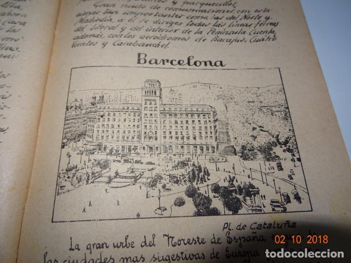Libros de segunda mano: Antiguo Libro de Escuela EUROPA Y SUS GRANDES CIUDADES de la Editorial Miguel A. Salvatella Año 1958 - Foto 7 - 136592210