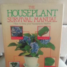 Libros de segunda mano: THE HOUSEPLANT SURVIVAL MANUAL. WILLIAM DAVIDSON. Lote 137125856