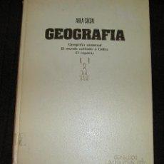 Livres d'occasion: CONSULTOR PRIMERA ETAPA EGB AREA 5 AREA SOCIAL GEOGRAFÍA EL MUNDO CONTADO A TODOS TIMUN MAS 1976. Lote 137174754