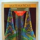 Libros de segunda mano: LIBRO DE TEXTO - MATEMÁTICAS 1º BACHILLERATO ANAYA 1987 - LIBRO SIN USO.. Lote 137205826
