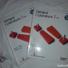 Libros de segunda mano: 11-00265 -ISBN 978-84-9807-479-6 - LLENGUA I LITERATURA 2º ESO. Lote 137244826