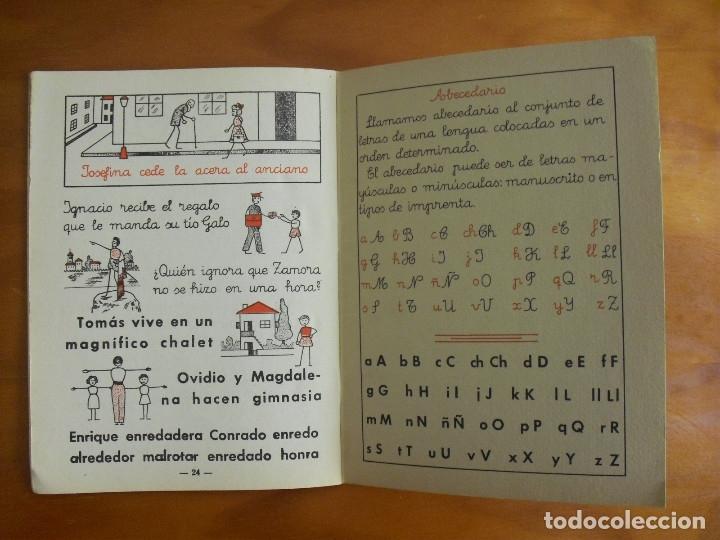 Libros de segunda mano: MI CARTILLA- TERCERA PARTE - ALVAREZ -EDICION OCTAVA- 1962 MIÑÓN VALLADOLID - Foto 4 - 136983074