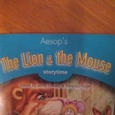 Libros de segunda mano: CD LIBRO THE LION & THE MOUSE. Lote 137445393