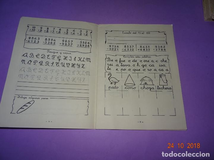 Libros de segunda mano: Antiguo CUADERNO DE DEBERES de Editorial Miguel Salvatella del Añi 1963 - Foto 2 - 137674426