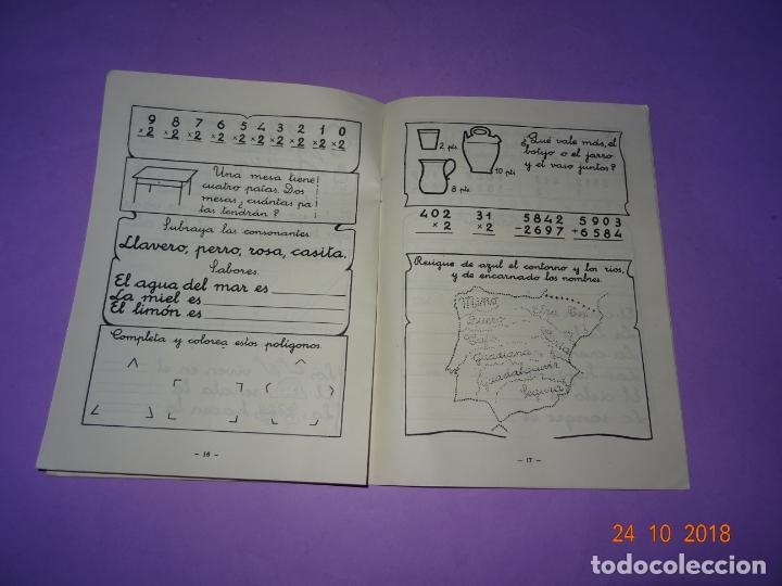 Libros de segunda mano: Antiguo CUADERNO DE DEBERES de Editorial Miguel Salvatella del Añi 1963 - Foto 3 - 137674426