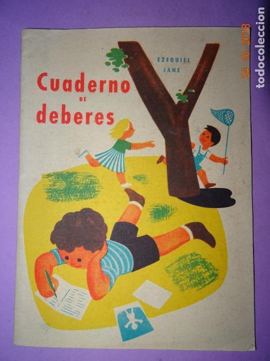 Libros de segunda mano: Antiguo CUADERNO DE DEBERES de Editorial Miguel Salvatella del Añi 1963 - Foto 5 - 137674426