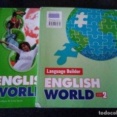 Libros de segunda mano: 153-ENGLISH WORLD, 2º ESO, LIBRO TEXTO Y CUADERNO, BURLINGTON, 2011. Lote 137781434