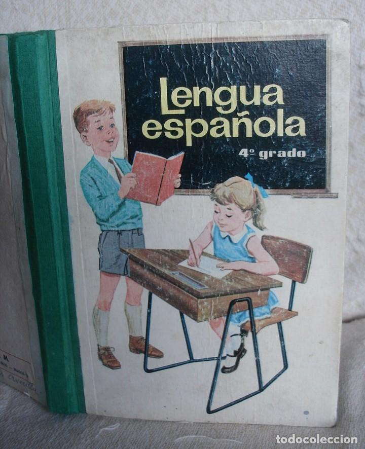 LENGUA ESPAÑOLA. 4º GRADO. EDICIONES S. M. 1966 (Libros de Segunda Mano - Libros de Texto )