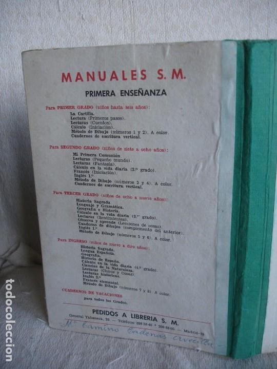 Libros de segunda mano: Lengua española. 4º grado. Ediciones S. M. 1966 - Foto 2 - 151139922