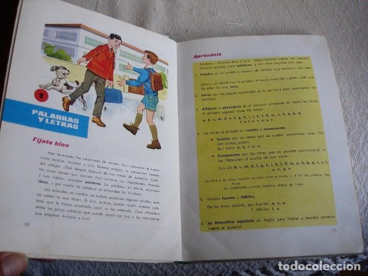 Libros de segunda mano: Lengua española. 4º grado. Ediciones S. M. 1966 - Foto 5 - 151139922