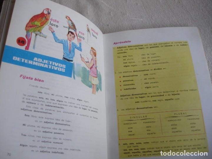 Libros de segunda mano: Lengua española. 4º grado. Ediciones S. M. 1966 - Foto 8 - 151139922