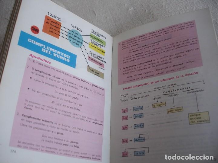 Libros de segunda mano: Lengua española. 4º grado. Ediciones S. M. 1966 - Foto 10 - 151139922