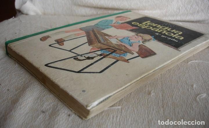 Libros de segunda mano: Lengua española. 4º grado. Ediciones S. M. 1966 - Foto 12 - 151139922