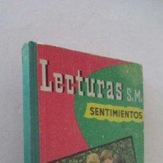Libros de segunda mano: LECTURAS SM - SENTIMIENTOS. Lote 139145314