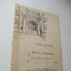 Libros de segunda mano: ESCUELAS INTERNACIONALES, RAZONES Y PROPORCIONES, 014-LA CIENCIA INSTRUYENDO AL TRABAJO-1ª. EDC.-S/F. Lote 139416122