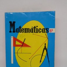 Libros de segunda mano: M69 LIBRO DE TEXTO, MATEMÁTICAS 6º CURSO. ED. SM. AÑO 1973.. Lote 139668982