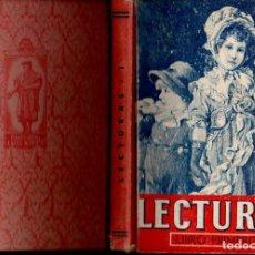Libros de segunda mano: LECTURAS EDELVIVES LIBRO PRIMERO (1942) CON LÁMINA DEL DICTADOR Y EL DIRIGENTE DEL PARTIDO FASCISTA. Lote 140035448