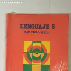 Libros de segunda mano: LIBRO DE LENGUAJE 5° DE E.G.B. Lote 140792662