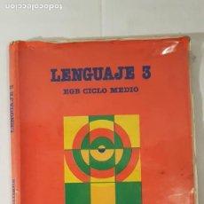 Libros de segunda mano: LIBRO DE LENGUAJE DE 3° DE E. G. B. Lote 140796642