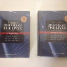 Libros de segunda mano: DISEASES OF THE LIVER VOLUMEN ONE Y TWO. Lote 141729057