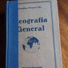 Libros de segunda mano: GEOGRAFÍA GENERAL. 2º GRADO. FAUSTINO PALUZIE MIR. IMPRENTA ELZEVIRIANA 1.948. Lote 141762238