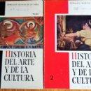 Libros de segunda mano: HISTORIA DEL ARTE Y LA CULTURA 1º Y 2º BACH. LABORAL. CONSUELO IGLESIAS. EDITORIAL TEIDE. 1965-66. Lote 142412254