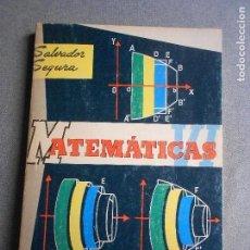 Libros de segunda mano: MATEMATICAS 6º CURSO.. Lote 142701266