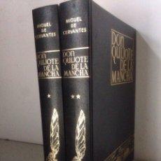 Libros de segunda mano: 2 TOMOS DON QUIJOTE DE LA MANCHA - AFANIAS - ESPASA-CALPE 1979. Lote 143542796