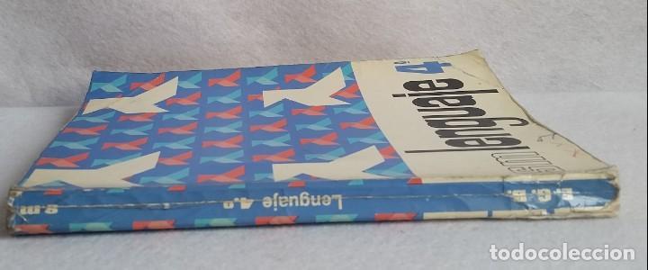 Libros de segunda mano: LENGUAJE 4º. EGB. EDICIONES SM. 1974. LIBRO DE TEXTO. - Foto 2 - 147767926