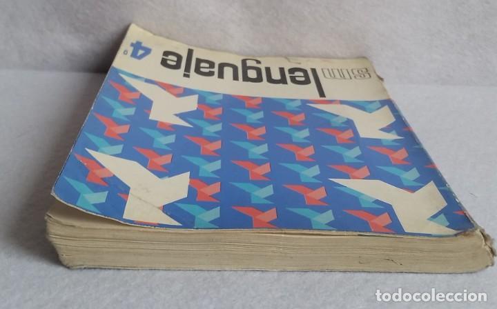 Libros de segunda mano: LENGUAJE 4º. EGB. EDICIONES SM. 1974. LIBRO DE TEXTO. - Foto 5 - 147767926