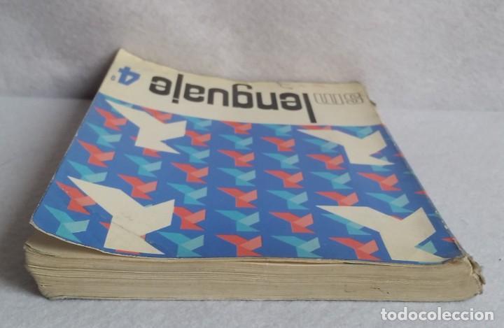 Libros de segunda mano: LENGUAJE 4º. EGB. EDICIONES SM. 1974. LIBRO DE TEXTO. - Foto 6 - 147767926