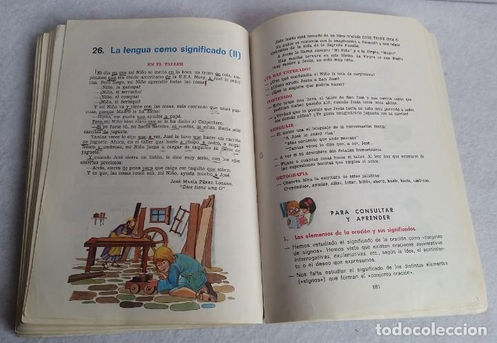 Libros de segunda mano: LENGUAJE 4º. EGB. EDICIONES SM. 1974. LIBRO DE TEXTO. - Foto 8 - 147767926