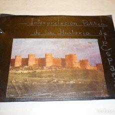 Libros de segunda mano: CUADERNO MANUSCRITO ESCOLAR *INTERPRETACIÓN POLÍTICA DE LA HISTORIA DE ESPAÑA* - 1964. Lote 143936306