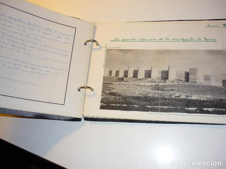 Libros de segunda mano: CUADERNO MANUSCRITO ESCOLAR *INTERPRETACIÓN POLÍTICA DE LA HISTORIA DE ESPAÑA* - 1964 - Foto 3 - 143936306