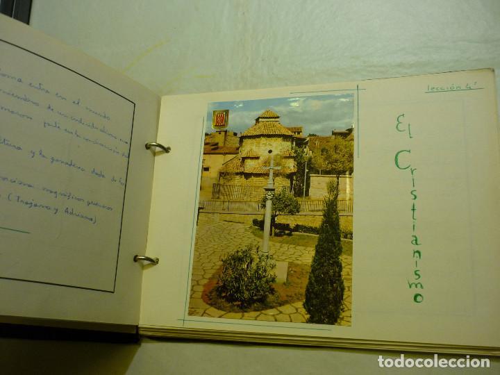 Libros de segunda mano: CUADERNO MANUSCRITO ESCOLAR *INTERPRETACIÓN POLÍTICA DE LA HISTORIA DE ESPAÑA* - 1964 - Foto 6 - 143936306