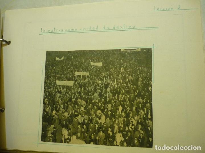 Libros de segunda mano: CUADERNO MANUSCRITO ESCOLAR *INTERPRETACIÓN POLÍTICA DE LA HISTORIA DE ESPAÑA* - 1964 - Foto 7 - 143936306