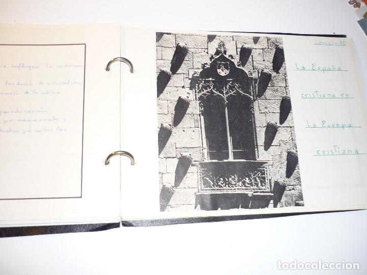 Libros de segunda mano: CUADERNO MANUSCRITO ESCOLAR *INTERPRETACIÓN POLÍTICA DE LA HISTORIA DE ESPAÑA* - 1964 - Foto 8 - 143936306