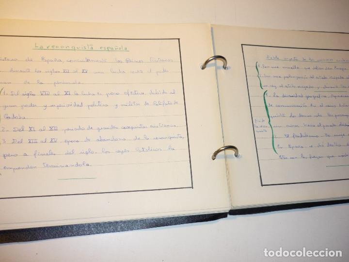 Libros de segunda mano: CUADERNO MANUSCRITO ESCOLAR *INTERPRETACIÓN POLÍTICA DE LA HISTORIA DE ESPAÑA* - 1964 - Foto 9 - 143936306