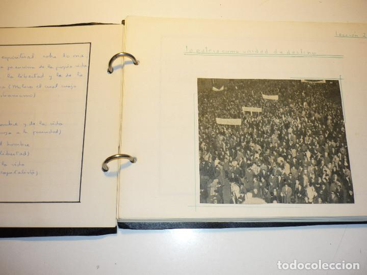 Libros de segunda mano: CUADERNO MANUSCRITO ESCOLAR *INTERPRETACIÓN POLÍTICA DE LA HISTORIA DE ESPAÑA* - 1964 - Foto 11 - 143936306