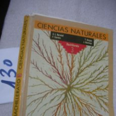 Libros de segunda mano: ANTIGUO LIBRO DE TEXTO - CIENCIAS NATURALES 3 EGB - ANAYA. Lote 145280478