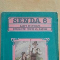 Libros de segunda mano: SENDA 6 EGB SANTILLANA 1988. Lote 152164610