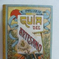 Livros em segunda mão: GUÍA DEL ARTESANO. PALUZIE. Lote 145588526