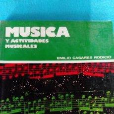 Gebrauchte Bücher - MUSICA Y ACTIVIDADES MUSICALES. BUP 1 - 145733930